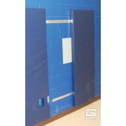"""Wall Pad with Bonded Polyurethane Foam and Vonar, Standard Size, 2' x 6' x 2"""""""
